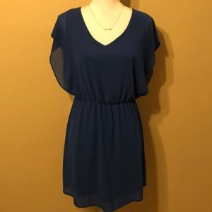 Flutter Sleeve Dress